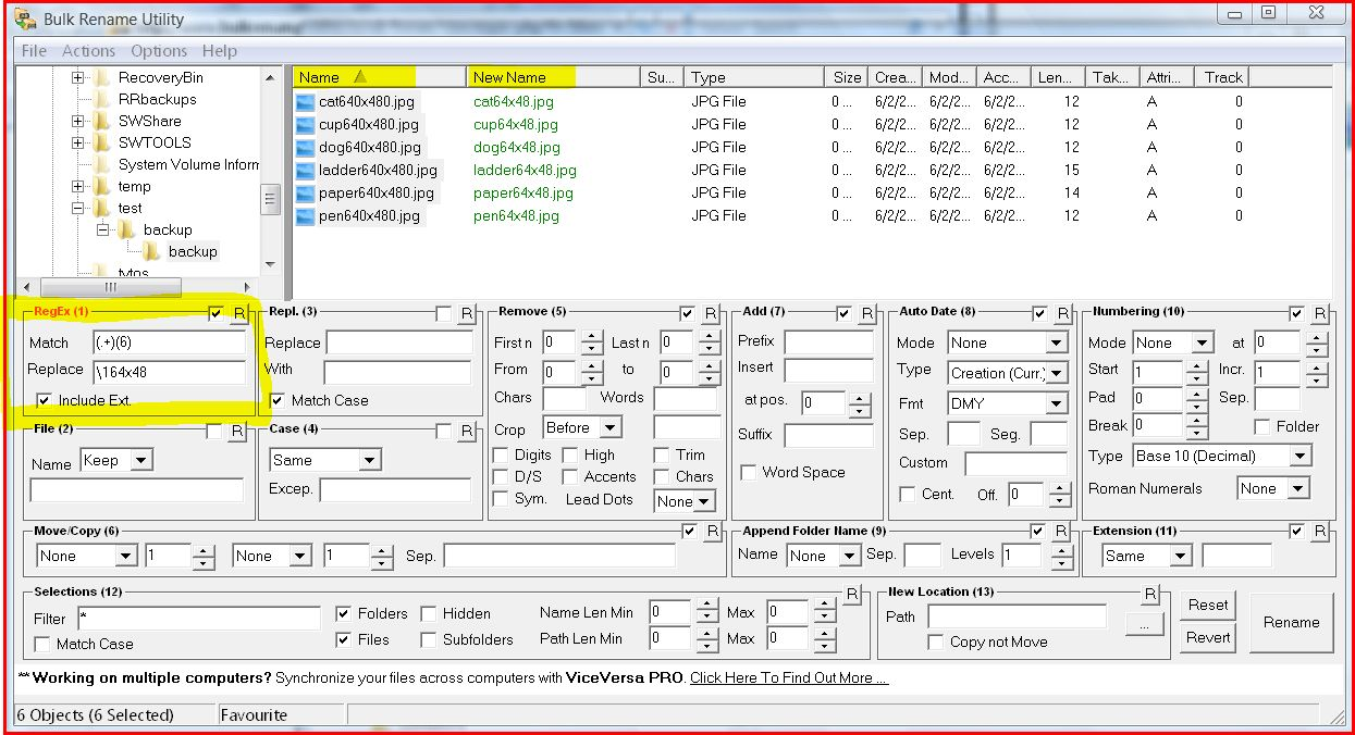 rename files | Computer Tools